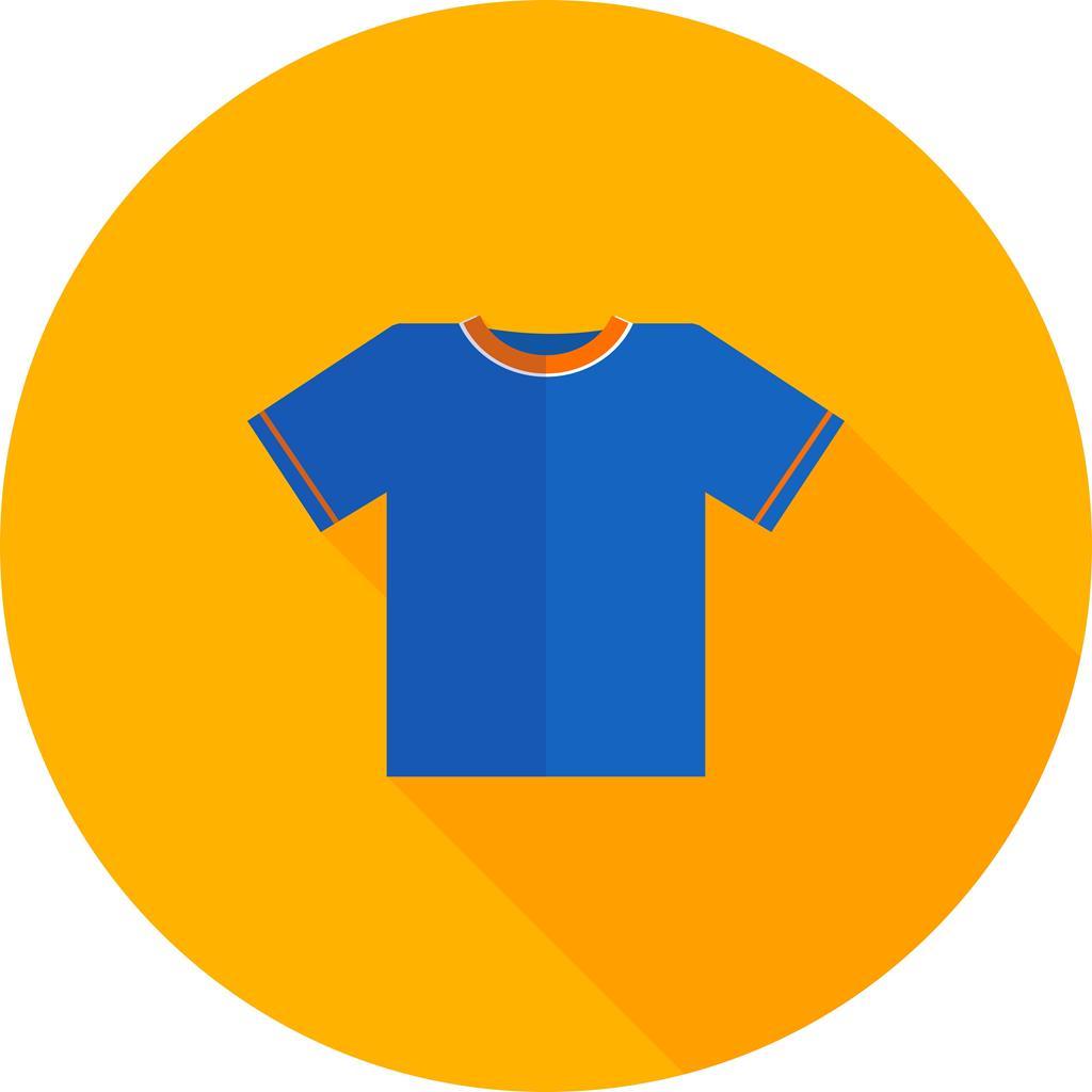 plain t shirt flat shadowed icon iconbunny plain t shirt flat shadowed icon