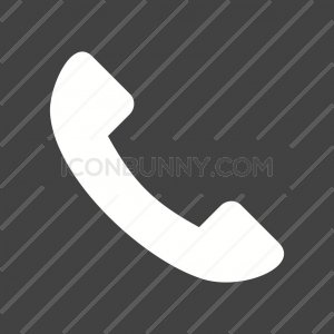 Phone Glyph Inverted Icon - IconBunny