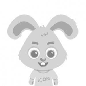 Data Center Flat Round Icon - IconBunny