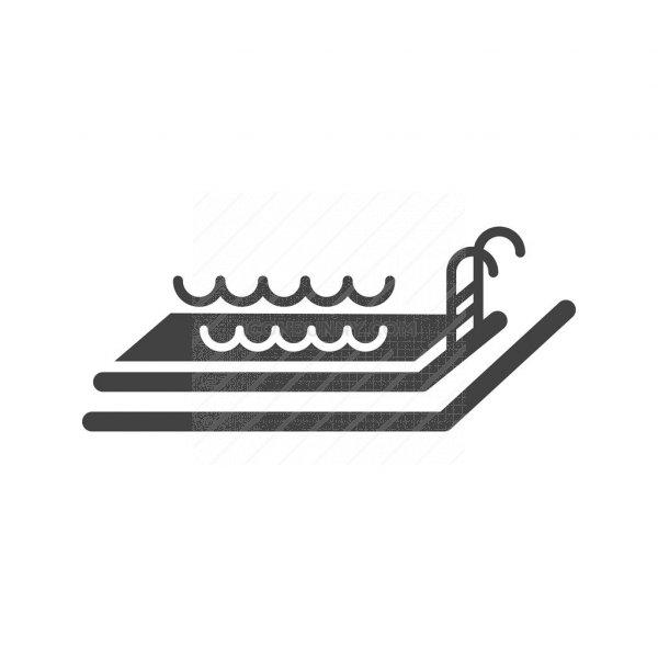 Swimming Pool Glyph Icon