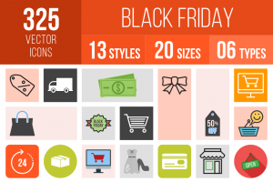 Black Friday Icons Bundle - Overview - IconBunny
