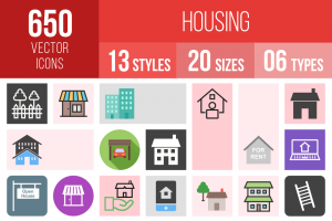 Housing Icons Bundle - Overview - IconBunny