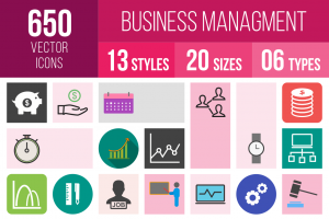 Business Management Icons Bundle - Overview - IconBunny
