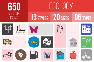 Ecology Icons Bundle - Overview - IconBunny