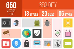 Security Icons Bundle - Overview - IconBunny