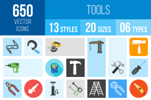 Tools Icons Bundle - Overview - IconBunny