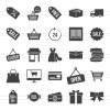 25 Black Friday Glyph Icons - Preview - IconBunny