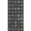 45 Computer & Hardware Line Inverted Icons - Preview - IconBunny