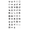 48 Admin Dashboard Glyph Icons - Preview - IconBunny