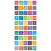 50 Academics Line Multicolor B/G Icons - Preview - IconBunny