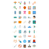 50 Healthcare Flat Multicolor Icons - Preview - IconBunny