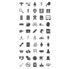 50 Healthcare Glyph Icons - Preview - IconBunny