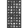 50 Healthcare Glyph Inverted Icons - Preview - IconBunny