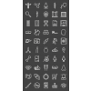 50 Healthcare Line Inverted Icons - Preview - IconBunny