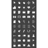 50 Interface Glyph Inverted Icons - Preview - IconBunny