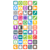 50 Picture Editing Flat Round Corner Icons - Preview - IconBunny