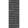 60 Banking Line Inverted Icons - Preview - IconBunny