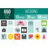Wedding Icons Bundle - Overview - IconBunny