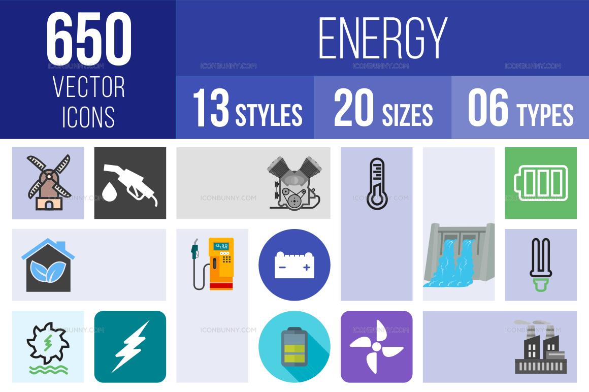 Energy Icons Bundle