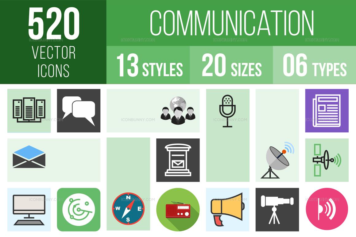 Communication Icons Bundle