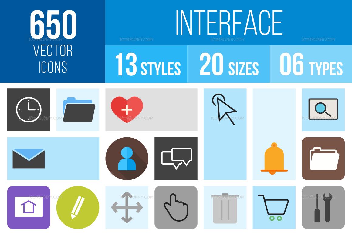 Interface Icons Bundle