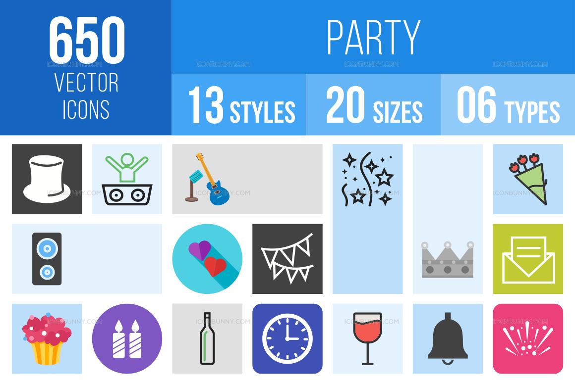 Party Icons Bundle