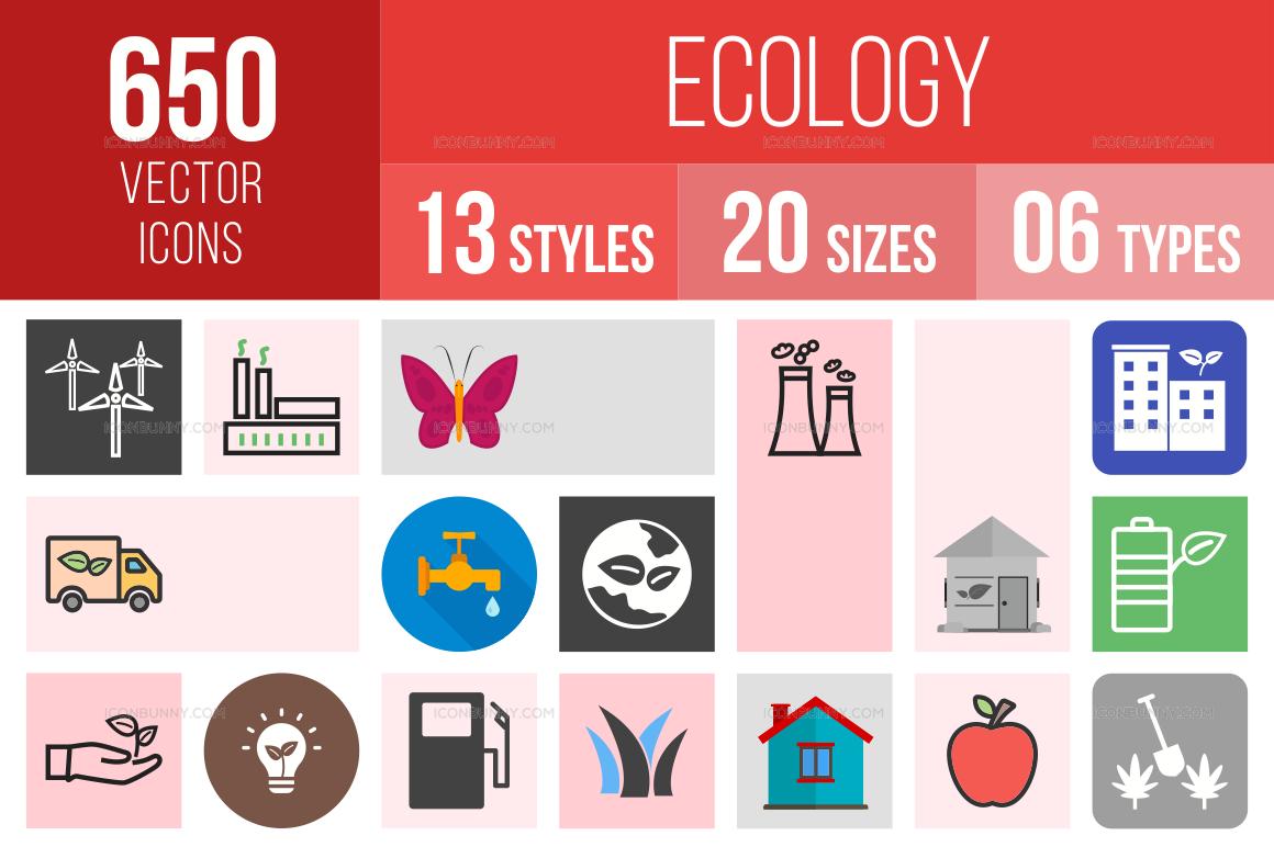 Ecology Icons Bundle