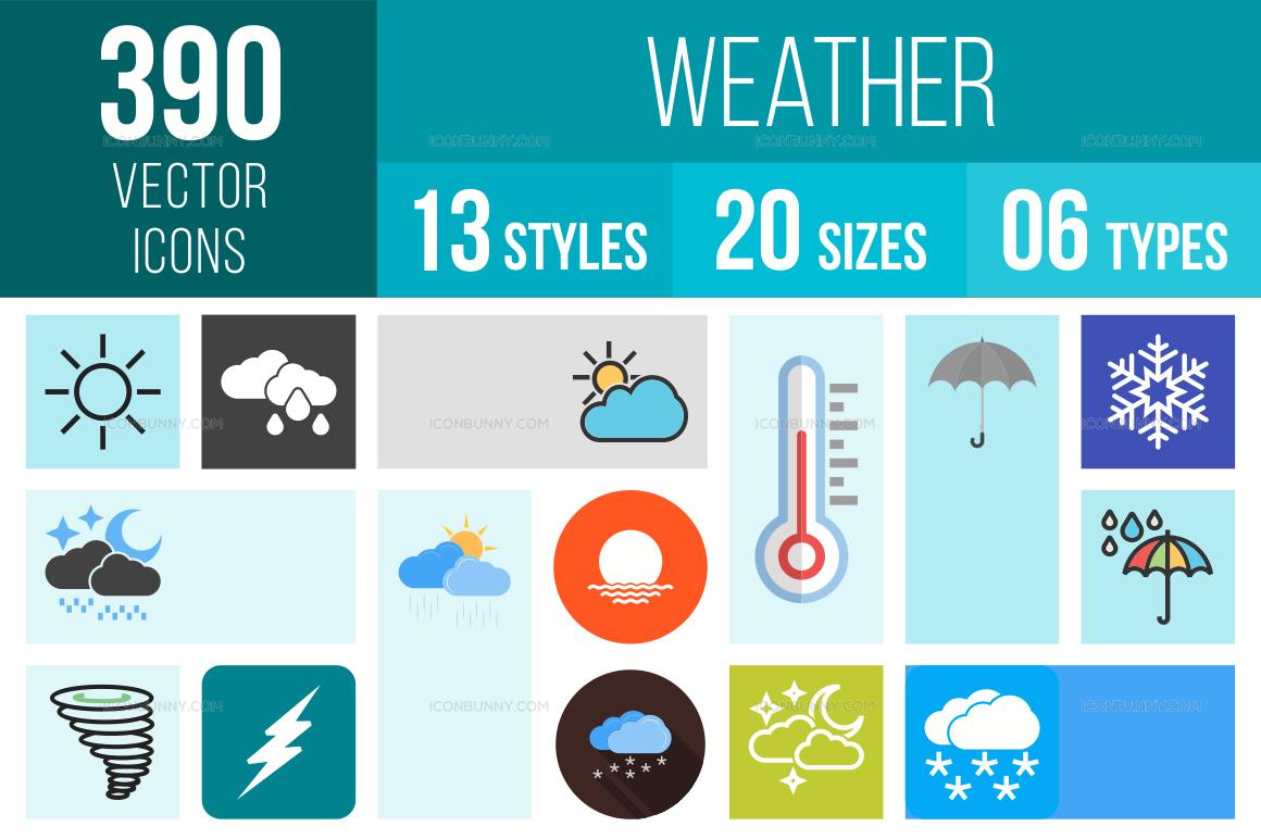 Weather Icons Bundle